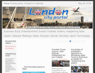 london.city-portal.biz screenshot