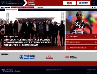 london.diamondleague.com screenshot