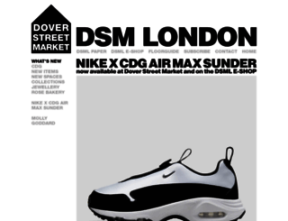 london.doverstreetmarket.com screenshot