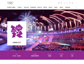 london2012.com screenshot