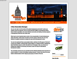 london40.devex.com screenshot