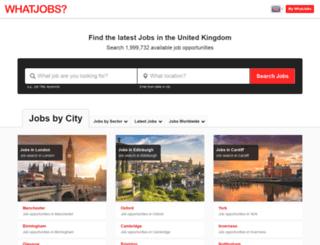 london4jobs.co.uk screenshot