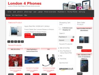 london4phones.com screenshot