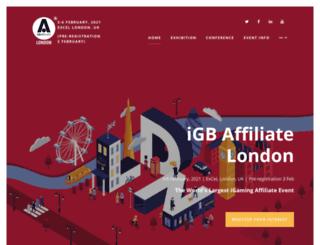 londonaffiliateconference.com screenshot