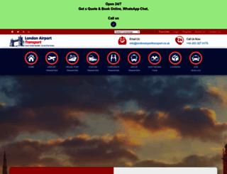 londonairporttransport.co.uk screenshot