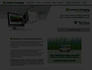 londonbiopackaging.com screenshot