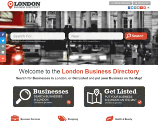 londonbusinessdirectory.co.uk screenshot