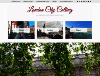 londoncitycalling.com screenshot
