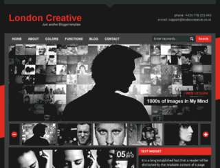 londoncreative-red.blogspot.com screenshot