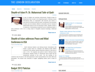 londondeclaration.blogspot.com screenshot
