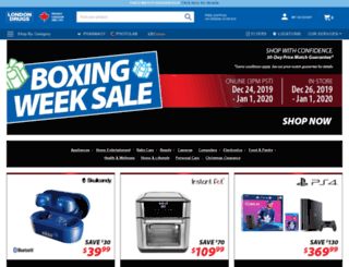 londondrugs.com screenshot