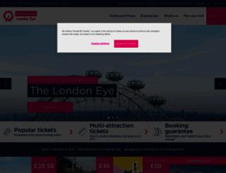londoneye.com screenshot