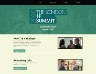 londonipsummit.com screenshot