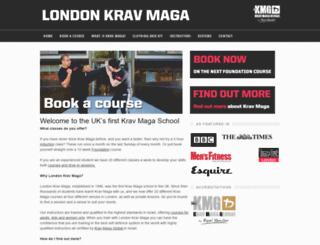 londonkravmaga.com screenshot