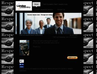 londonleadership.co.uk screenshot