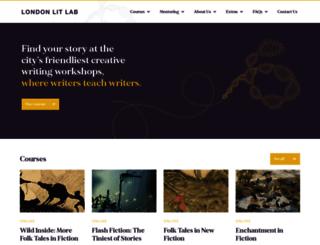 londonlitlab.co.uk screenshot