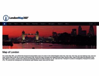londonmap360.com screenshot