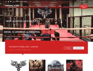 londonmuaythai.co.uk screenshot