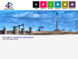 londonoilcorporation.com screenshot