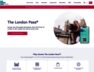 londonpass.com screenshot