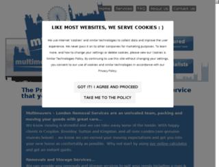 londonremovalservices.com screenshot