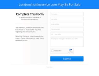 londonshuttleservice.com screenshot