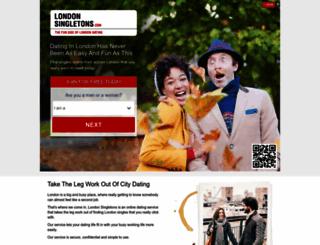 londonsingletons.com screenshot