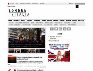 londraitalia.com screenshot
