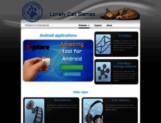 lonelycatgames.com screenshot