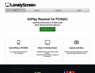 lonelyscreen.com screenshot