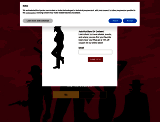 loneriderbeer.com screenshot