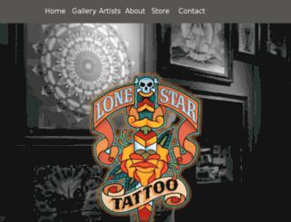 lonestartattoo.click4corp.com screenshot