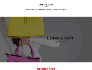 longandson.co.uk screenshot
