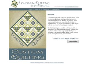 longarmquiltlg.com screenshot