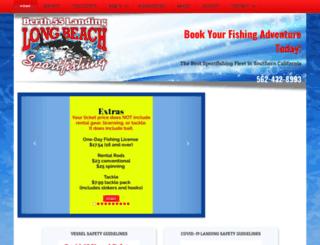 longbeachsportfishing.com screenshot
