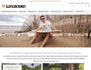 longboard.fr screenshot