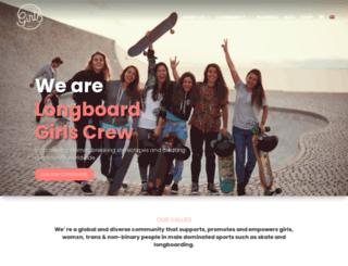 longboardgirlscrew.com screenshot