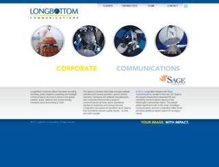 longbottomcommunications.com screenshot