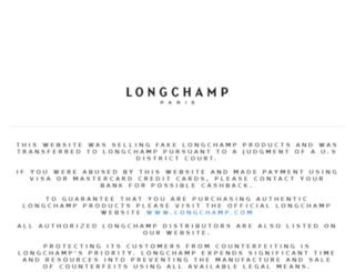 longchampoutletsite.com screenshot