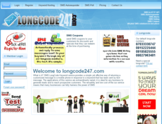 longcode247.com screenshot