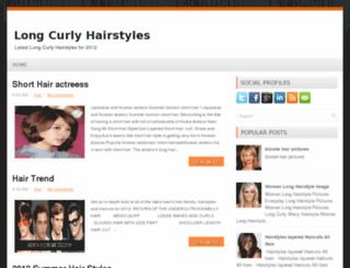 longcurlyhairstyles.blogspot.com screenshot