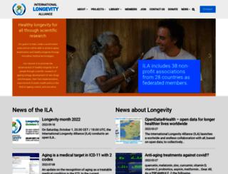 longevityalliance.org screenshot