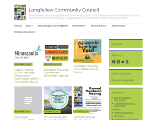 longfellow.org screenshot
