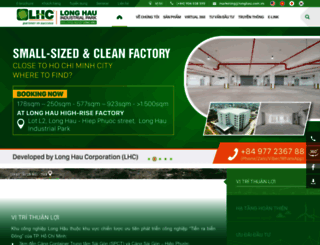 longhau.com.vn screenshot