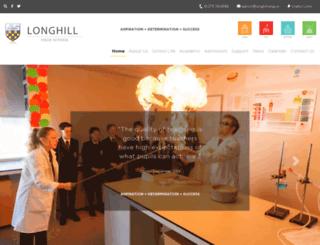 longhill.brighton-hove.sch.uk screenshot