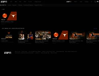 longhornnetwork.com screenshot