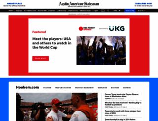 longhorns.blog.statesman.com screenshot