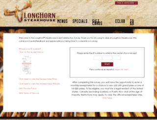 longhornsurvey.com screenshot