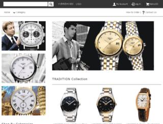 longineswatchesonline.com screenshot