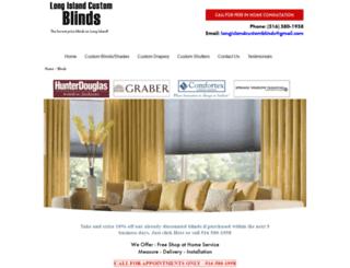 longislandcustomblinds.com screenshot
